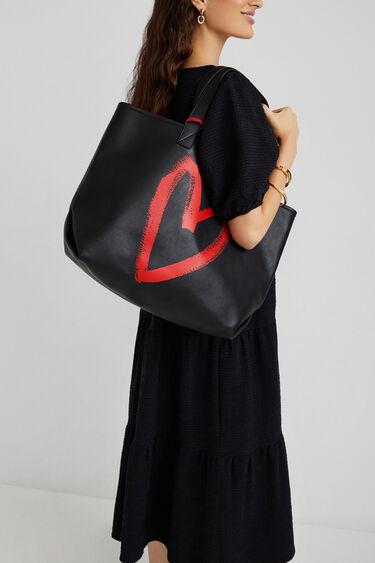 Bolso shopping bag  2 en 1 reversible | Desigual