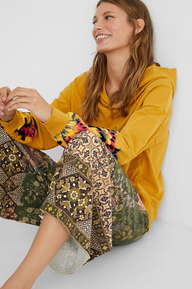 Hindu culotte trousers | Desigual