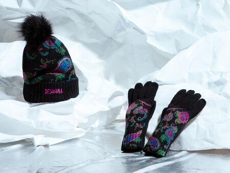 Conjunto gorro y guantes