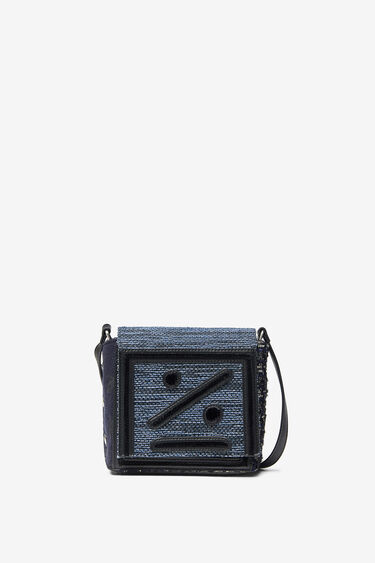 Small square bag face robot | Desigual
