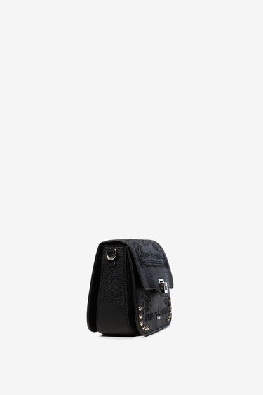 Embossed sling bag with matching keyring | Desigual