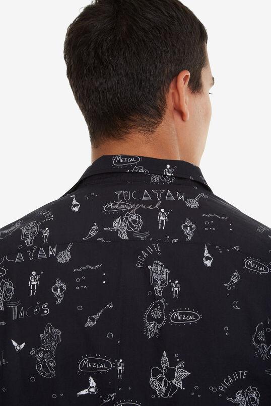 Chemise noire bolimanie | Desigual