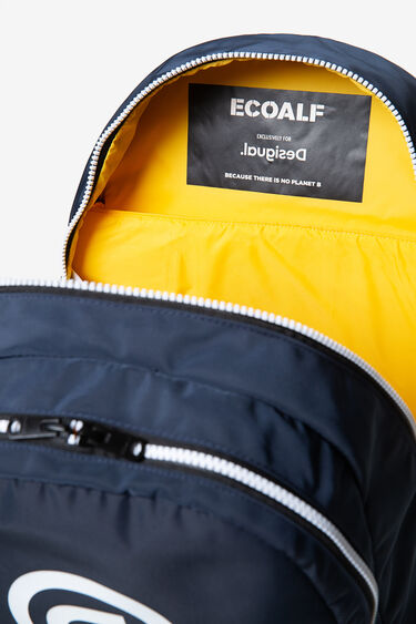 Ecoalf backpack with message | Desigual