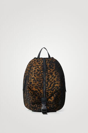 Small animal print backpack | Desigual