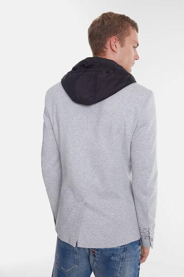 Hybrid sport jacket with hood | Desigual