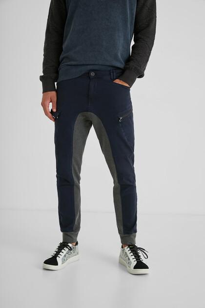 Hybrid cargo jogging trousers