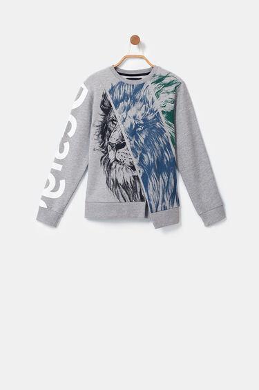 Sweatshirt lion bolimania | Desigual