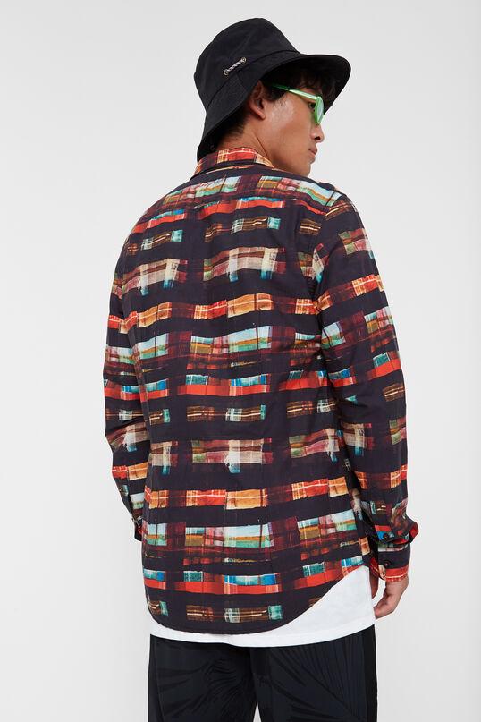 Arty tartan shirt | Desigual