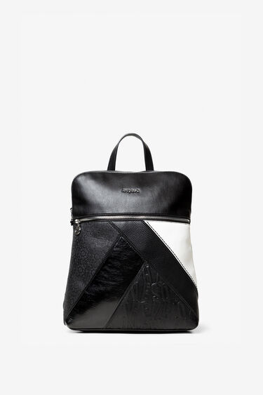 Backpack with patch by zones | Desigual