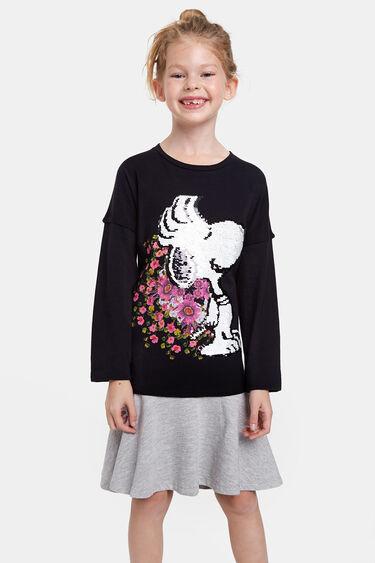 Robe Snoopy paillette réversible | Desigual