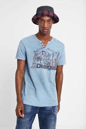 Camiseta Barcelona 100% algodón