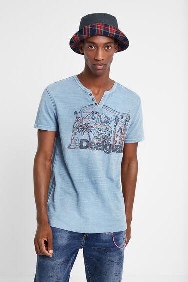 T-shirt Barcelone 100% coton | Desigual