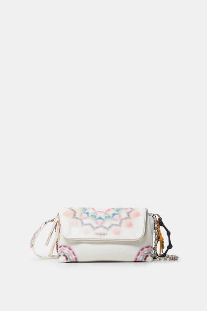 Crossbody bag tie-dye mandalas