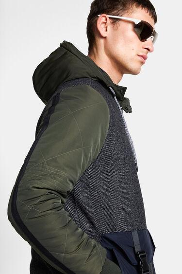 Tweed jacket hood | Desigual