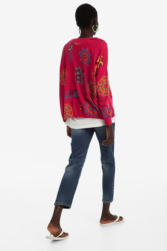 Fine cotton jumper | Desigual