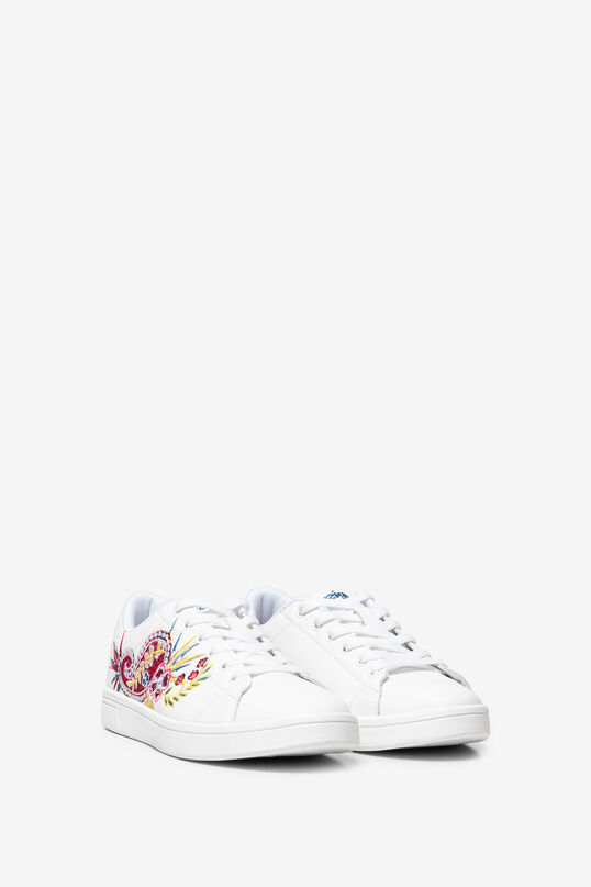 Embroidered tennis sneakers | Desigual
