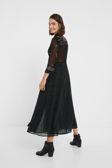 Long Georgette dress | Desigual