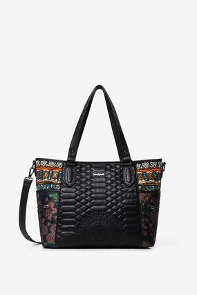 Shopping bag bordados laterais