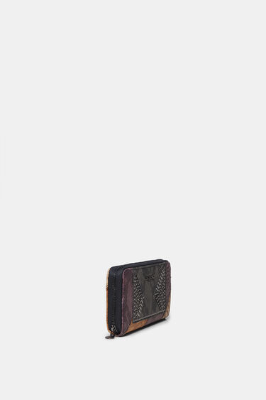 Reptile effect wallet studs | Desigual