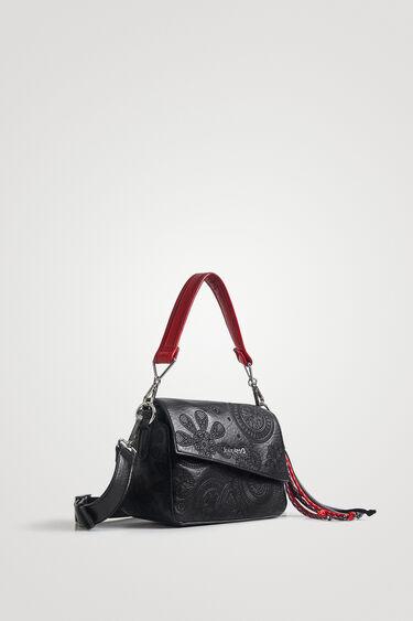 Handbag flap asymmetric   Desigual
