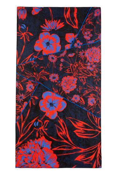 Foulard large floral print | Desigual