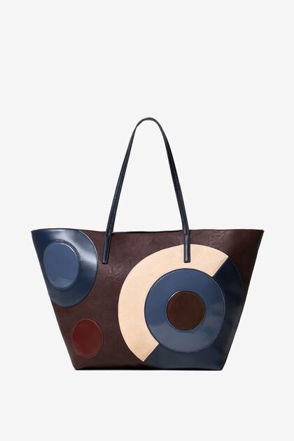 Geometric shopping bag