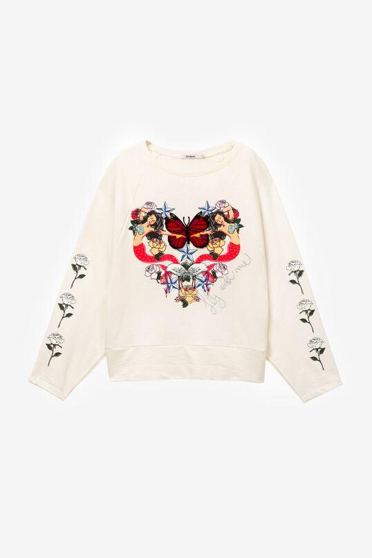 Sweatshirt hart zeemeerminnen Serene | Desigual