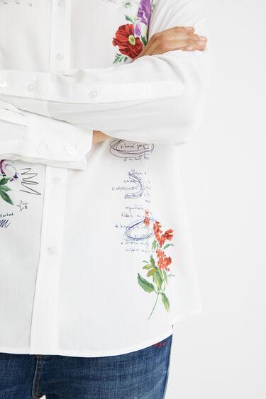 Camisa brodada flors | Desigual