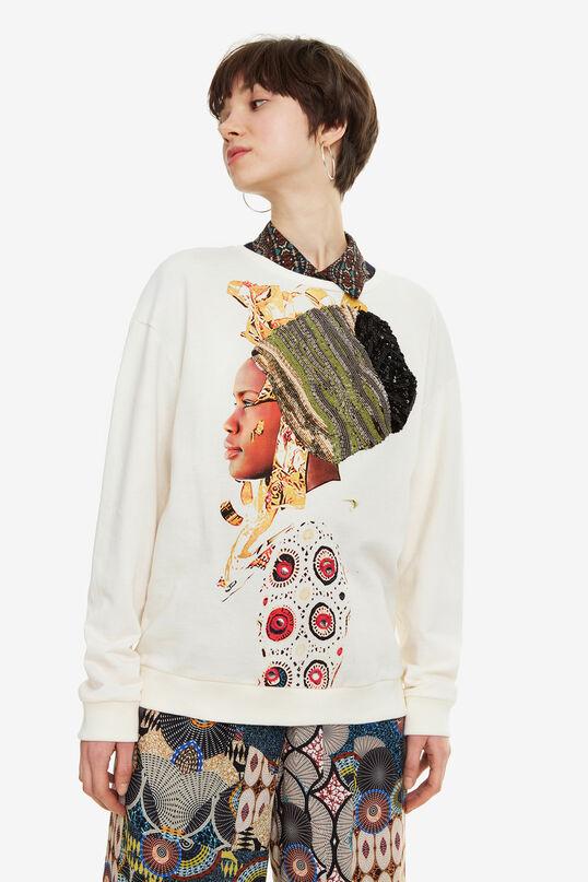 African Sweatshirt Princes   Desigual