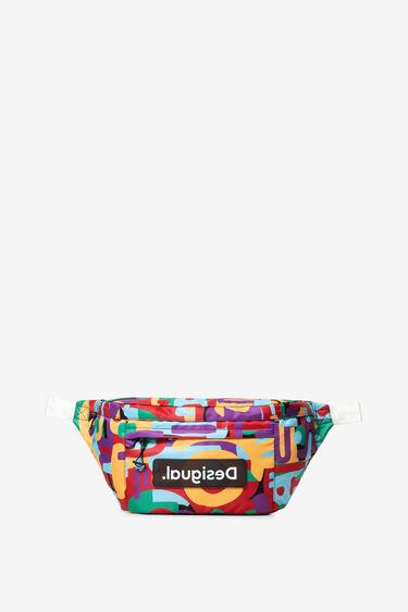 Multicolour camouflage maxi-bum bag | Desigual