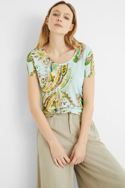 T-shirt manches courtes Paisley