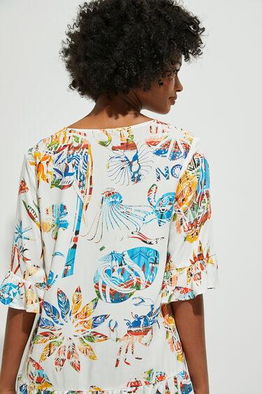Short beach dress | Desigual