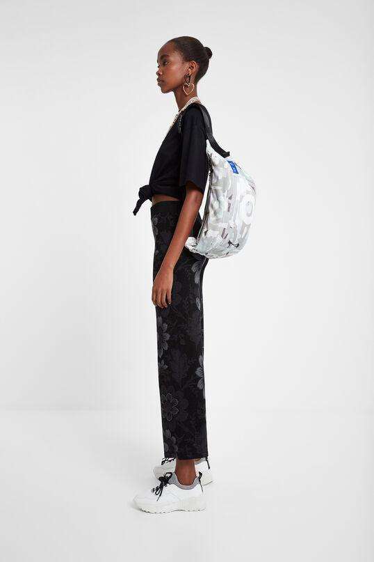 Long floral trousers | Desigual