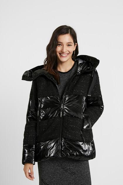 Padded jacquard jacket