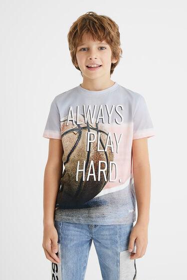 T-Shirt Basketball 100% Baumwolle | Desigual