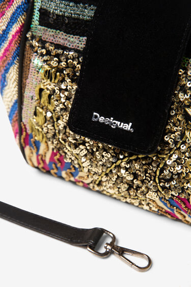Sequin boho bag | Desigual