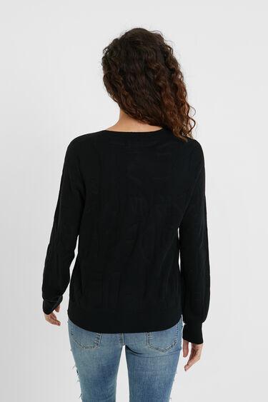 Basic knit logo jumper | Desigual