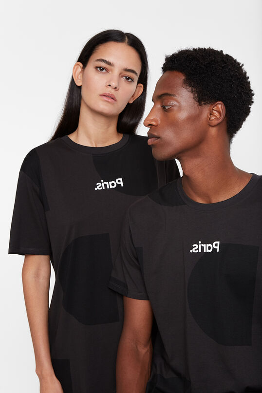 T-shirt Monogram Paris | Desigual