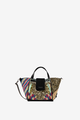 Sequin boho bag