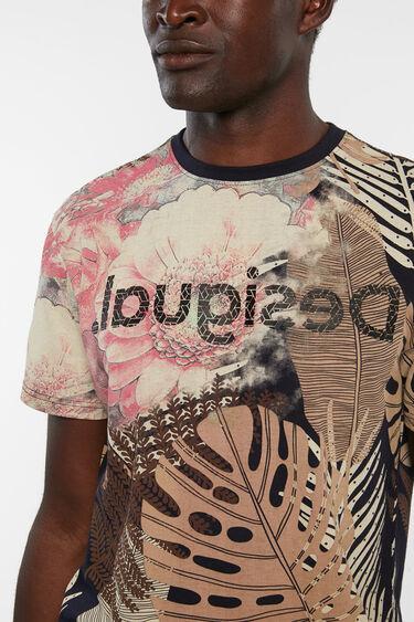 Basic T-shirt exotic leaves | Desigual