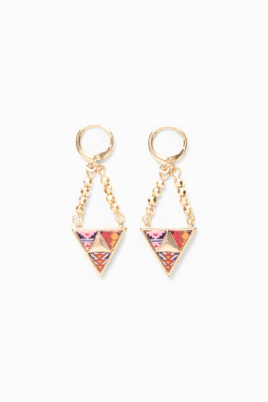 Peruvian Triangle Earrings | Desigual