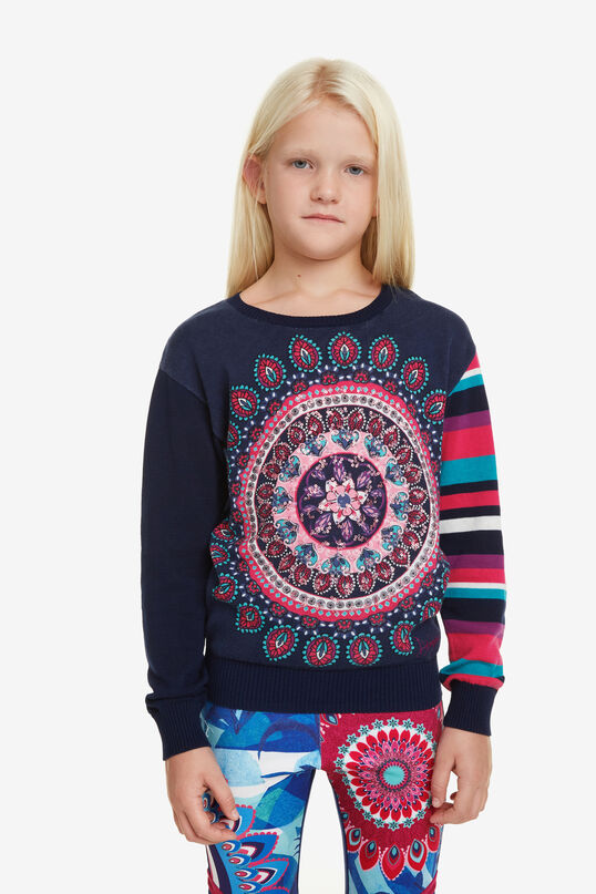 Pullover Mismatched-Look Eliot | Desigual