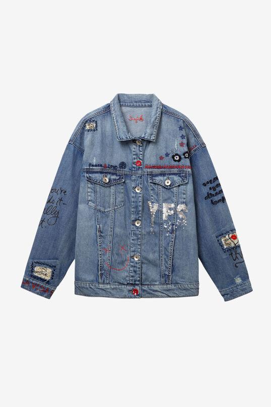 Oversize Denim Jacket Yes Jaquet | Desigual