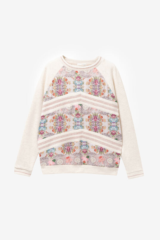 Floral sweatshirt Praga | Desigual