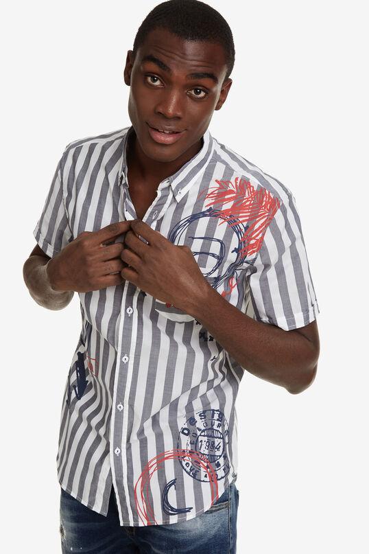 Button-down Striped Shirt Simet | Desigual