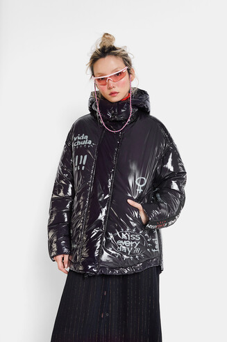 Oversize padded jacket