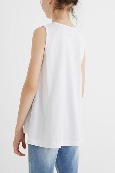 Tank top T-shirt two layers | Desigual
