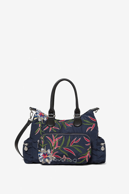 Floral bag pockets