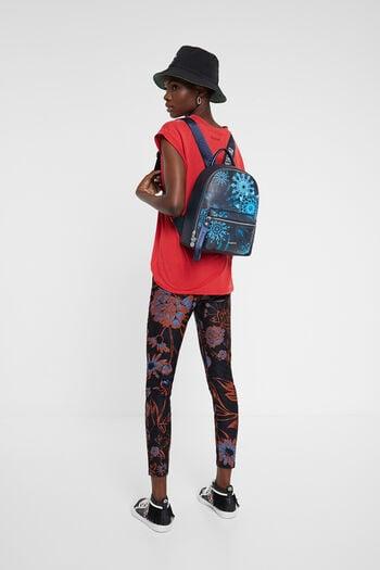 Mini-backpack blue mandalas | Desigual