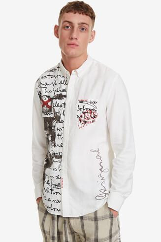 Half-Print Shirt